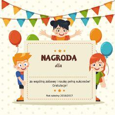 Wkładki i dedykacje do nagród dla przedszkolaków gotowe do druku pozwolą nam szybko przygotować prezent do wręczenia z okazji końca roku w przedszkolu! :)