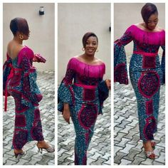 Hmmmmm This Another Lovely Ankara Styles Long Gown .Hmmmmm This Another Lovely Ankara Styles Long Gown African Dresses For Women, African Print Dresses, African Attire, African Wear, African Fashion Dresses, African Women, African Prints, Ankara Fashion, African Inspired Fashion