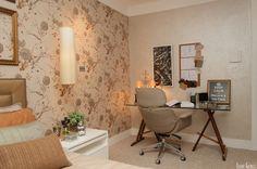 20 Ambientes com papel de parede para você se inspirar - Casa