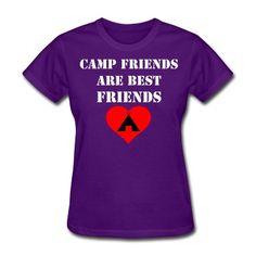 Camp Friends are Best Friends T-Shirt | Spreadshirt | ID: 10414183