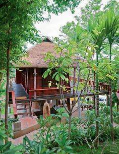แบบบ้านไทยใต้ถุนสูง