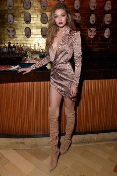 The Gigi Hadid Look Book - at her birthday celebration. See all the model's best looks. Gigi Hadid Looks, Style Gigi Hadid, Bella Gigi Hadid, Fashion Models, Fashion Beauty, Fashion Outfits, Modelos Fashion, 21st Birthday, Birthday Celebration