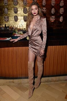 The Gigi Hadid Look Book - at her 21st birthday celebration.