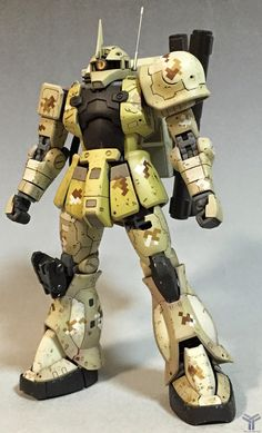 Custom Build: RG 1/144 Zaku Sniper - Gundam Kits Collection News and Reviews
