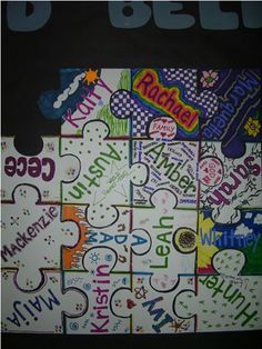 Resident assistant door decs ra ideas awesome ideas for 2019 Puzzle Bulletin Boards, Diversity Bulletin Board, College Bulletin Boards, Interactive Bulletin Boards, Resident Assistant Programs, Ra College, Ra Programming, Diversity Activities, Ra Door Decs