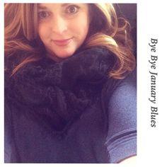 #dolman #scarf #blue #undertheweather #OOTD