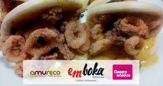 aprovecha el fin de semana para probar nuestro montadito de calamares rebozados con nuestra salsa especial que presentamos en Murcia Gastronómica en el stand de Amureco y tuvo muy buena acogida¡ te sorprenderás ! Reservas 968241668 ¡ estamos en La Flota!