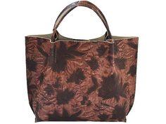 """PP Handmade leather bag for women """"Grace-5"""". $176.00, via Etsy."""