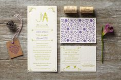 Hipster Wedding Invites That You'll Love #refinery29  http://www.refinery29.com/ice-cream-social#slide9  Find out more about custom designs here.