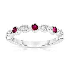 Stackable Diamond Rings, Unique Diamond Rings, Diamond Solitaire Rings, Thing 1, Beautiful Engagement Rings, White Gold Rings, Clarity, Ruby Wedding Rings, Ruby Rings