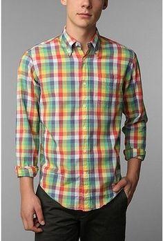 80f57c08a9eb Gant Handloom Madras Multicheck Shirt - ShopStyle Longsleeve