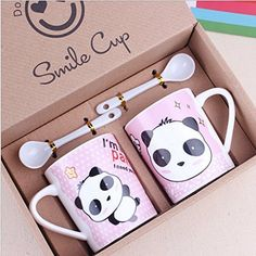 Shop for panda home & kitchen products at Panda Things, the world's number one panda store. Choose from a huge selection of panda items available now. Panda Love, Cute Panda, Coffee Art, Coffee Cups, Panda Kawaii, Panda Party, Cute Kitchen, Cute Mugs, Mug Cup