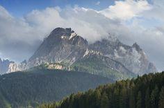 Dolomiti #Montagne #clouds #sky #blu