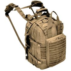 Explorer M2 Everyday Deluxe Carry Huge Military Corpsman Medic Hospital Tactical Backpack, 20 x 13 x 6-Inch >>> See this awesome image  : Backpacking gear