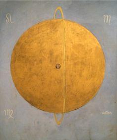 Hilma af Klint. The  Dove no. 13, 1915 / Sacred Geometry <3