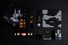 Samurai Japanese Cuisine on Packaging of the World - Creative Package Design Gallery