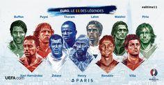 Mon 11 des Légendes de l'EURO