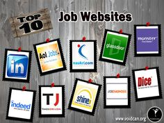 Voidcan.org brings you the list of top ten Job sites and all the information regarding sites which makes them job. List is researched by our website experts.