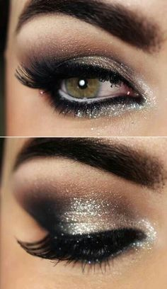 The art of smoky eyes <3