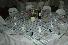 Wedding, table setting