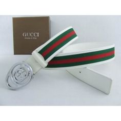 a520a59d786 Cheap Replica Gucci Belts Sale White 090