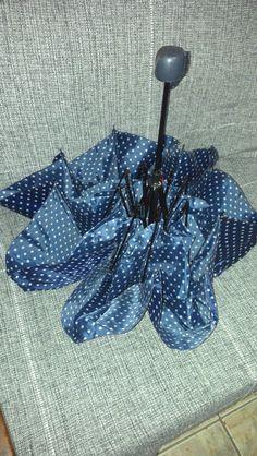 Coisas de Ada: Cama para cachorro e gato feita com guarda-chuva quebrado (modelo 1)