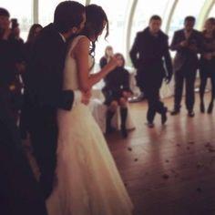 Weddings dance bride and groom shot