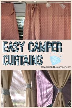 Happiest Little Camper: How to Make New Curtains