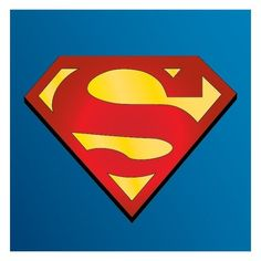Superman Logo [EPS File] Free Company Logo Download, Vector, Icons,... ❤ liked on Polyvore