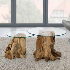 Sofatisch Set mit runden Glasplatten Baumstumpf (2-teilig) Jetzt bestellen unter: https://moebel.ladendirekt.de/wohnzimmer/tische/satztische/?uid=0e53749c-237a-51de-b217-049e50ed9d1b&utm_source=pinterest&utm_medium=pin&utm_campaign=boards #salontisch #tischgestell #sofa #designertische #wohnzimmertisch #couchtisch #designertisch #beistelltisch #anstelltisch #glas #satztische #designer #tische #beistelltischchen #beitisch #tisch #glastisch #sofatisch #wohnzimmer