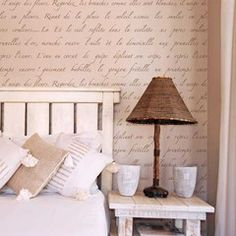 Oh so pretty!  Can just picture this in a Paris theme little girls room!