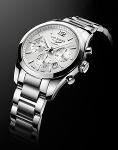 Longines - Conquest Classic Steel