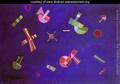 Fixed Flight - Wassily Kandinsky - www.abstract-expressionism.org