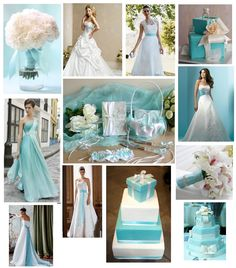 Turquoise Wedding Dresses | wedding dress that is white with turquoise pattern on it. Description from pinterest.com. I searched for this on bing.com/images