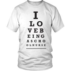School Nurse - Love Being