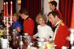 October Princess Diana attending a dinner with the Hampshire Regiment In Berlin. The Princess Of Wales Is Their Colonel-in-chief. Lady Diana, Princesa Diana, Charles Spencer, Daughter In Law, Diane, Prince Of Wales, Queen Of Hearts, British Royals, Duchess Of Cambridge