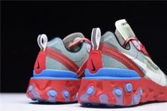 ee1011cf4e78 Undercover x Nike Epic React Element 87 Red Green Blue AQ1813-339