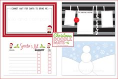 Christmas Doodle Mats from Kiki and Company. Print. Laminate. and have a jar of dry erase markers for your kids. This will save me from 5-6 pm! #free #christmas