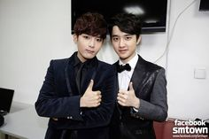 Do Kyungsoo of EXO & Kim Ryeowook of Super Junior | SMTOWN Week 2013 in Seoul