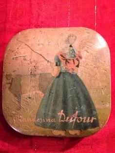Scatola Latta- Antica 1930 -Dufour Olandesina Da Collezione -Tin Boxes 2 • EUR 15,00