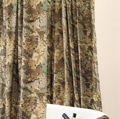 Realtree Advantage Bathroom Shower Curtain and One Matching Window Valance (1 Shower Curtain, 1 Window Valance) Realtree  http://www.amazon.com/dp/B015DJY5YY/?m=A1BFG3GAF4A4Z1