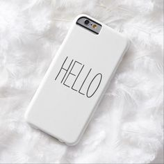 "Funny, cute, ""Hello"" or custom create your own customizable saying hipster iPhone 6 case cover. #PhoneCase"