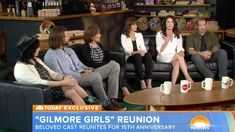 The cast of the 'Gilmore Girls' reunited on NBC's Today Show for the show's 15th anniversary. Stars Lauren Graham and Alexis Bledel shared the secret behind their chemistry.