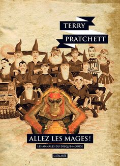 Nouvelle édition ! Allez les mages ! de Terry Pratchett (Les Annales du Disque-monde livre 37, 2019) ©Paul Kidby / Leraf – Ce qu'il faut savoir du fouteballe – ce qu'il faut savoir d'important sur le fouteballe –, c'est qu'il dépasse le cadre du fouteballe.