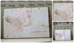 Schmetterlingskarte | Bokehtechnik | Butterflies | Schmetterlingsgruß | Stampin' Up! |