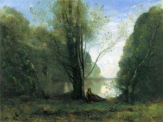 Camille Corot, Solitude (1866)