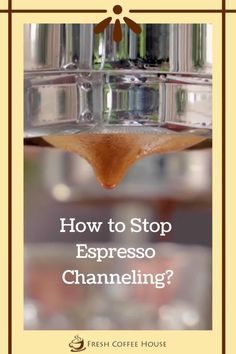 Espresso channeling will ruin the taste of your coffee, which is why early detection and intervention are critical. Almost anyone with an espresso machine has experienced this problem, and it's never a pleasing experience. Although espresso channeling is a common occurrence, it's often hard to avoid it, especially if you don't know its cause and various prevention methods. #espresso #coffee Coffee Cream, Coffee Type, Espresso Coffee, Black Coffee, Types Of Coffee Beans, Different Types Of Coffee, Coffee Canister, Coffee Accessories, Coffee Drinkers