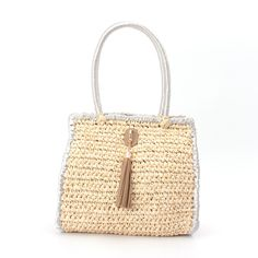 OPAQUE.CLIP crochet bag