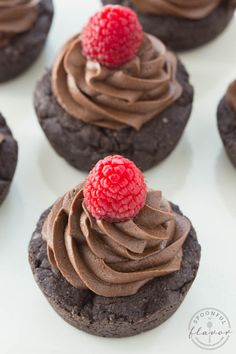 Double Dark Chocolate Cookie Cups