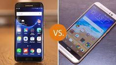 SAMSUNG GALAXY S7 EDGE vs. HTC ONE (M9)